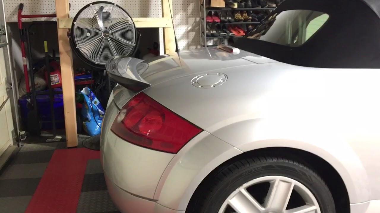 Osir Telson Carbon Fiber Spoiler Audi Tt Mk1 8n Youtube