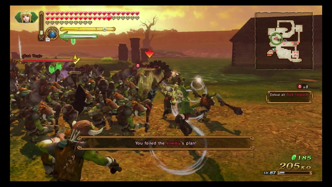 Hyrule Warriors Definitive Edition Grand Travels Map Square B6 A Rank Youtube
