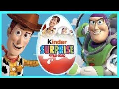 Киндер СюрпризБазз Лайтер/шериф Вуди/ Buzz Light История игрушек -Забытые временем Мультфильм Disney
