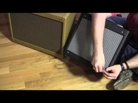 Mojotone tweed speaker cabinet for Fender Pro Junior Amp to convert to 1x12 combo