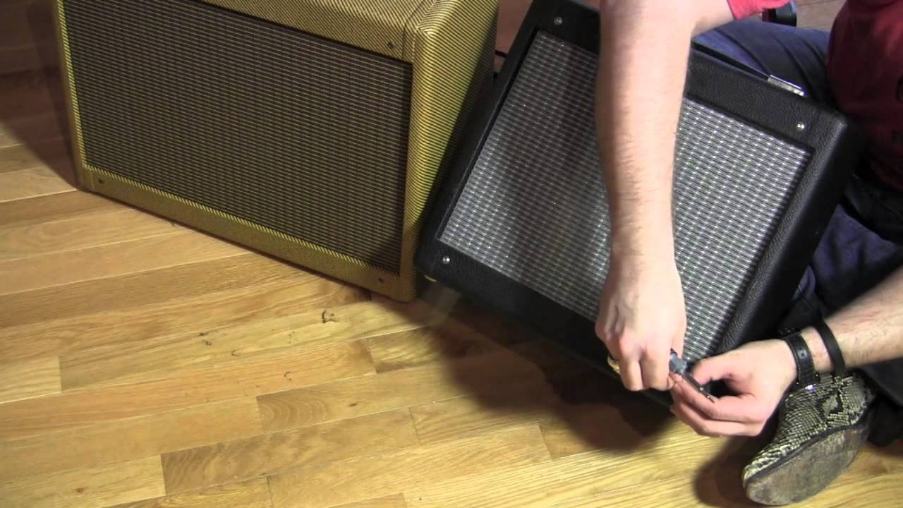Mojotone tweed speaker cabinet for Fender Pro Junior Amp to convert to 1x12 combo  YouTube