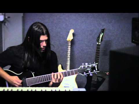 "Gustavo Di Padua - Guitar Recording Sessions - ""Unfold"" - ALMAh- Video 1"