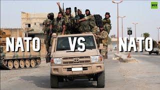 NATO v NATO: Washington sanctions Turkey over military op in Syria