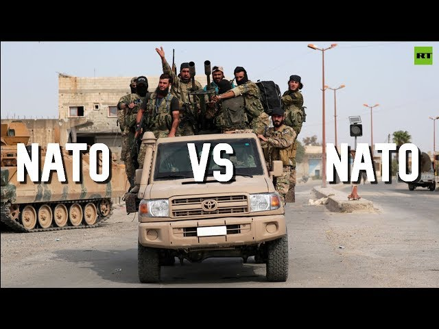 NATO v NATO: Washington sanctions Turkey over military op in Syria