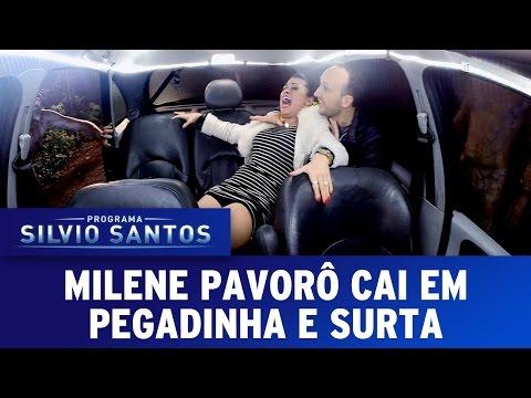Câmera Escondida (26/06/16) - Invasão Alienígena com Milene Pavorô - Extraterrestrial Prank