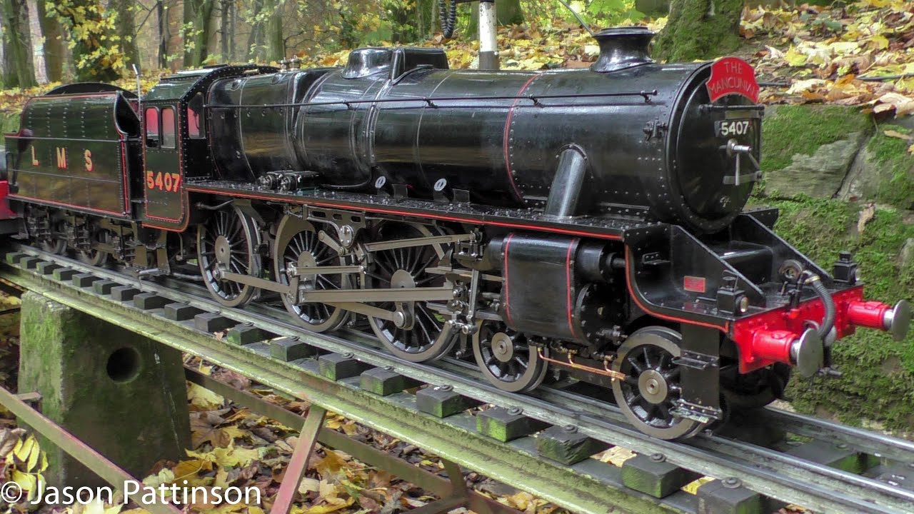 5 inch Gauge LMS Black 5 5407 - Live Steam Locomotive - Sir William Stanier