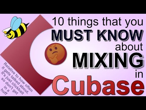 The -TOP 10- overlooked mixing features in Cubase Pro.