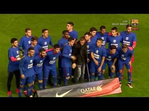 [ESP] FÚTBOL 2aB: FC Barcelona B - CF Badalona (1-3)