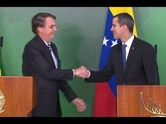 Estúdio Veja: O encontro entre Juan Guaidó e Jair Bolsonaro