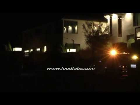 Chris Brown Home Invasion, Aunt Forced into Closet / Tarzana   RAW FOOTAGE