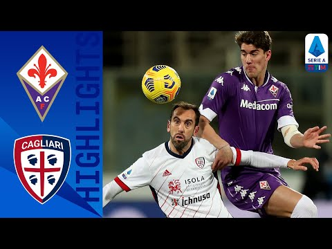 Fiorentina 1-0 Cagliari | Vlahovic struck in the 2nd half to guide Fiorentina | Serie A TIM