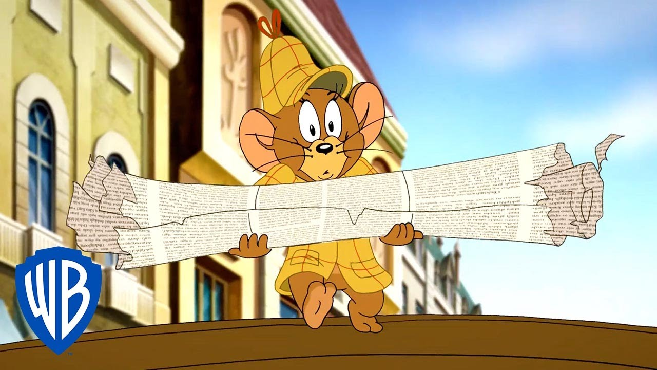 Tom & Jerry | Fetching The Newspaper for Sherlock Holmes | WB Kids