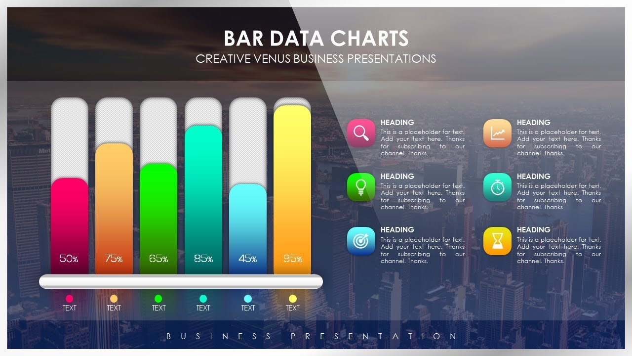 Bar Data How To Create Beautiful Bar Data Chart For Business Presentation In Microsoft Powerpoint Ppt