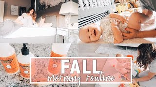 FALL MORNING ROUTINE 2018 ☕️ | Day in the Life of a Stay-at-Home Mom