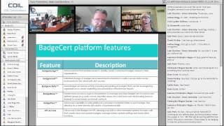 Open Digital Badges - A conversation with Dr. Daniel Hickey & James Willis Ph.D. Thumbnail