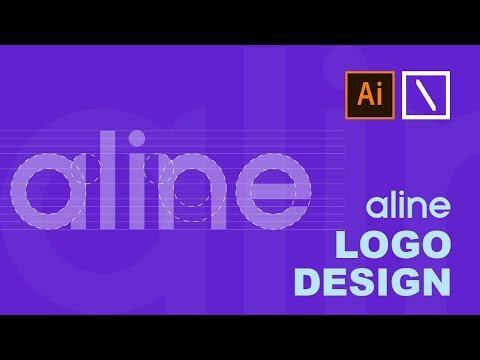 aline Logo Design | Adobe Illustrator Tutorial thumbnail