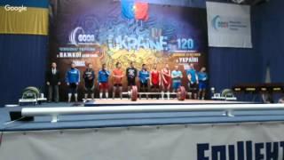Чемпіонат України з важкої атлетики серед юніорів 2016