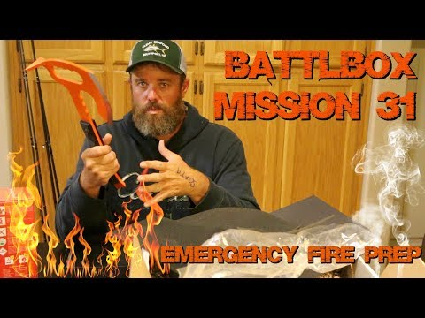 BattlBox Mission 31 Pro Plus | Emergency Fire Prep | Not Flashy But I like It!