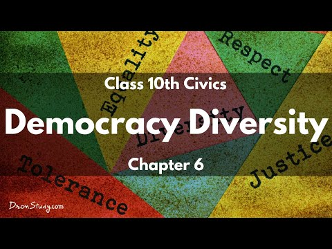 Civics Democracy Diversity: CBSE Class 10 X | Social Studies | Video Lecture