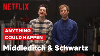 Middleditch And Schwartz Teach Intro To Improv | Netflix Is A Joke