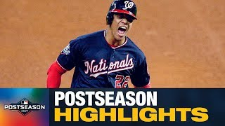 Juan Soto Postseason Highlights (Young Nationals phenom hits 5 HRs, 14 RBIs, .277 average)