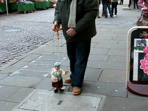 Newark on Trent marionette