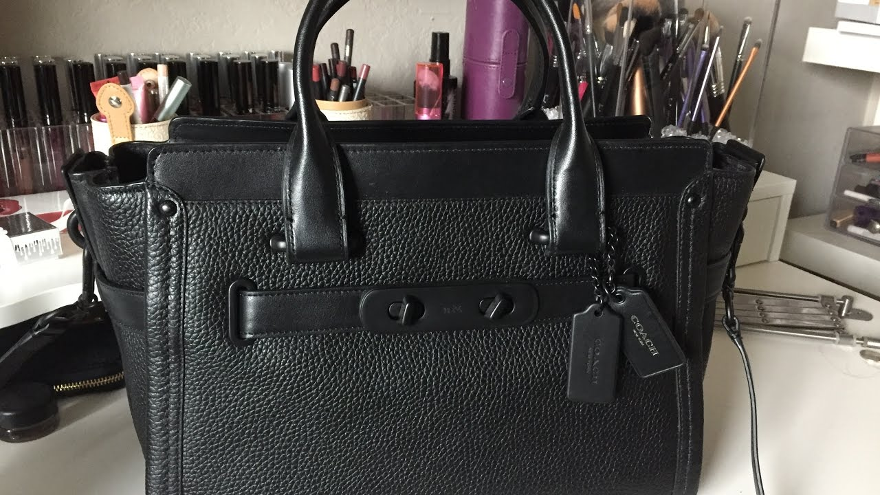 ca582122f9 Unboxing  Coach Swagger Carryall Handbag