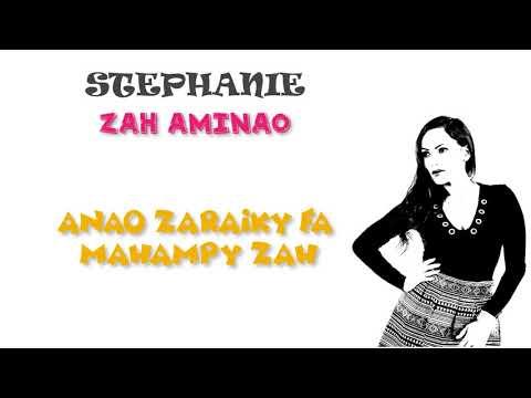STEPHANIE ZAH AMINAO