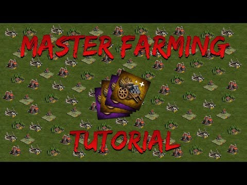 MASTER FARMING TUTORIAL - CLASH OF KINGS: THE WEST