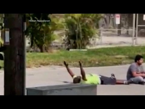 Police Shoot Unarmed Black Man in Miami