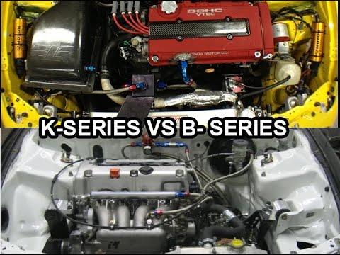 B-Series Vs K-Series Engine Swap What's More Practical?