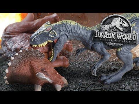 Allosaurus Vs Trike!!!