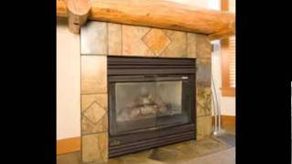 Ceramic Tile Fireplace Designs & Patterns