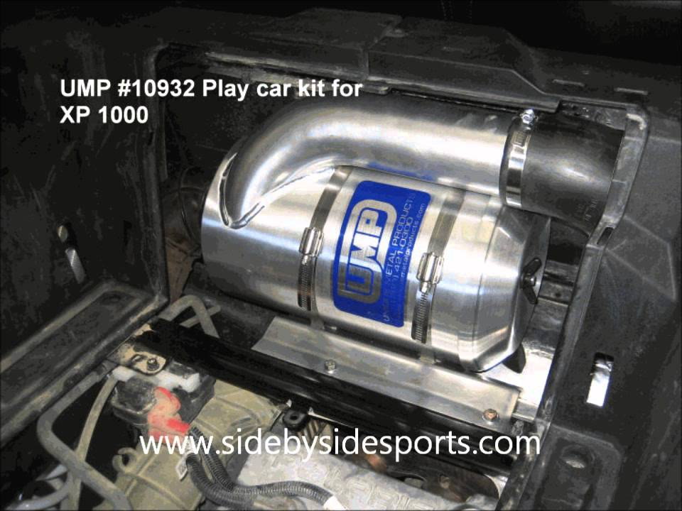2015 Polaris Rzr >> UMP Polaris RZR XP 1000 / XP 4 1000 Intake Kit - YouTube