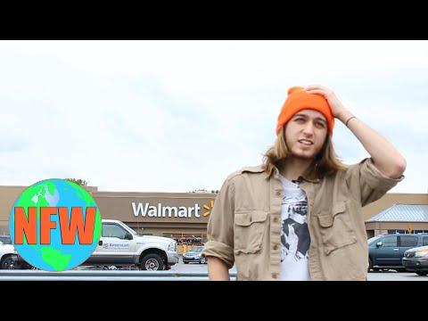 SPENDING 24 HOURS IN WALMART [The Walmart Challenge]