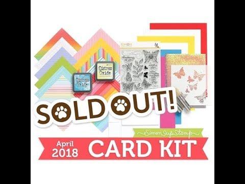 10 Cards 1 Kit  | SSS April 2018 Card Kit | Part 2