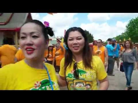 Lao new year Wat lao Tennessee 2016