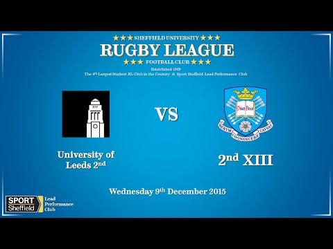 University of Leeds 2nds vs University of Sheffield 2nds - Full match
