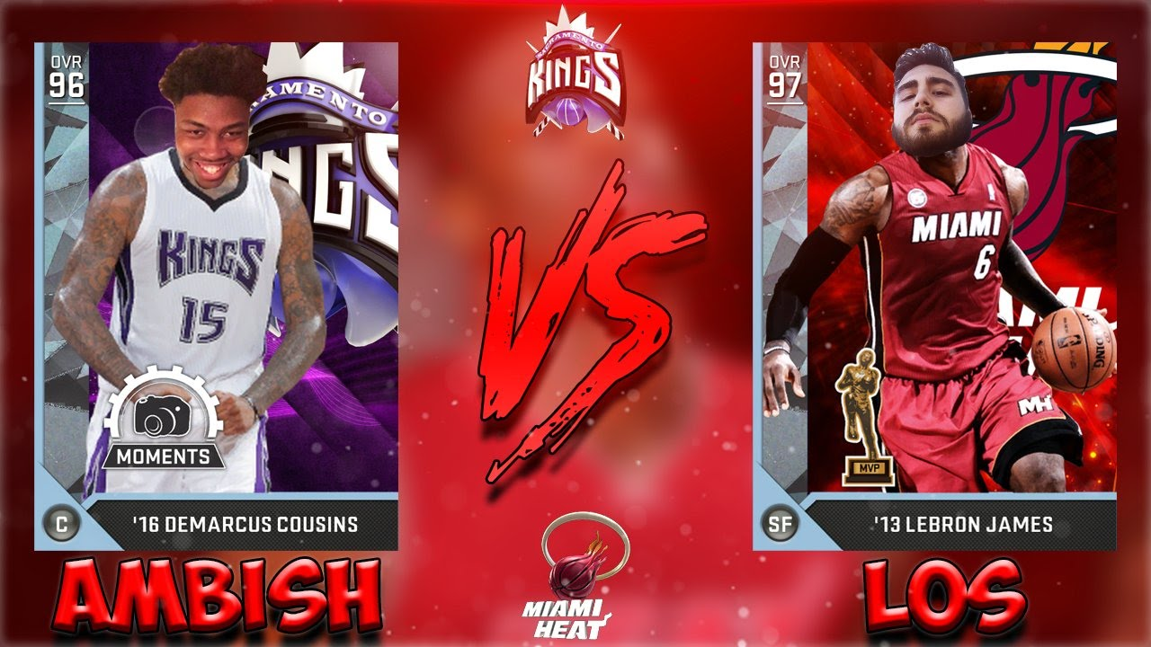 ALL TIME HEAT VS KINGS NBA 2K16 MyTeam Download