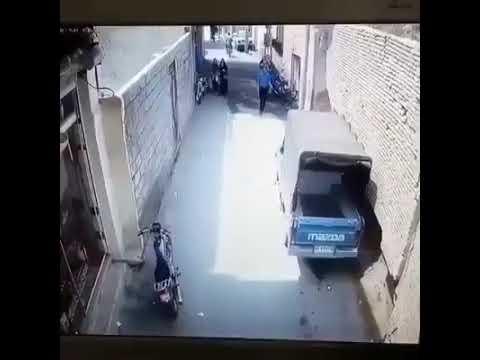 CCTV CAUGHT HORROR SAFE PEOPLE ALLAH