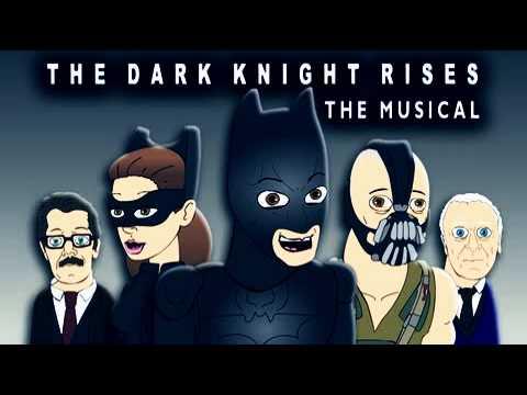 THE DARK KNIGHT RISES THE MUSICAL - Batman Parody [10 HOURS LOOP VERSION]
