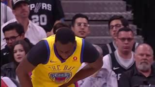 Draymond Green Injury | Warriors vs Spurs | March 19, 2018