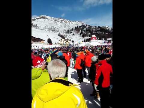 Patrouille Suisse (. Team  Pilatus PC 18) St Moritz le vendredi 17 février 2017