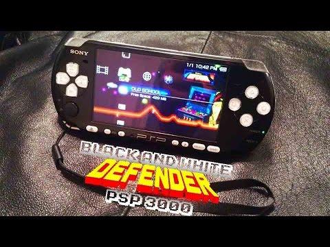 32gb Black and White PSP 3000 by TimothyTim