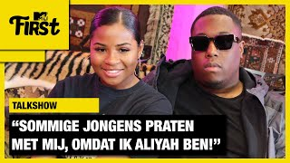 "ALIYAH: ""De MANNELIJKE AANDACHT wordt soms VERVELEND""| MTV FIRST"