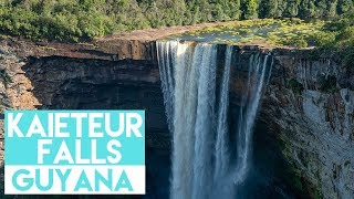 Kaieteur Falls, Guyana - World's Tallest Single Drop Waterfall