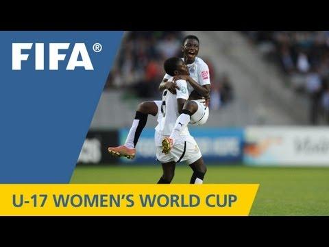 10-girl Ghana Get Better Of Germans
