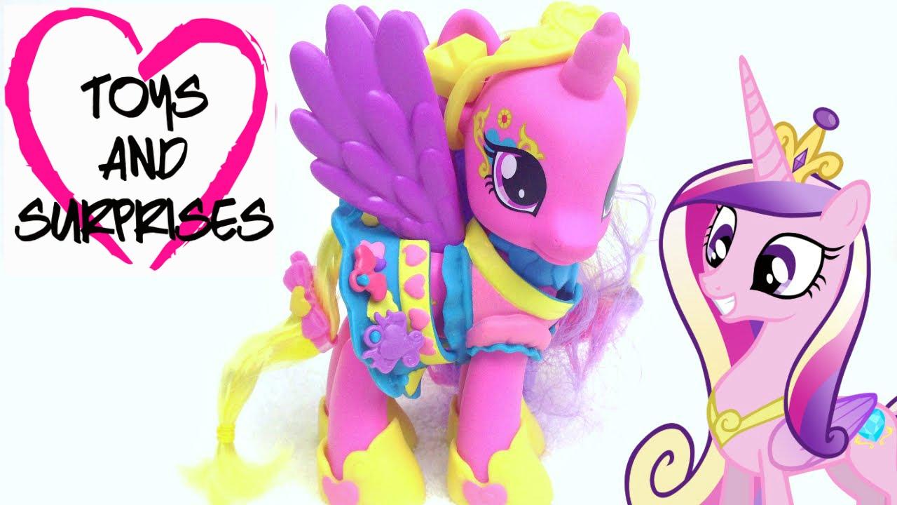 Обзор игрушек: Мой маленький пони Принцесса Каденс - YouTube