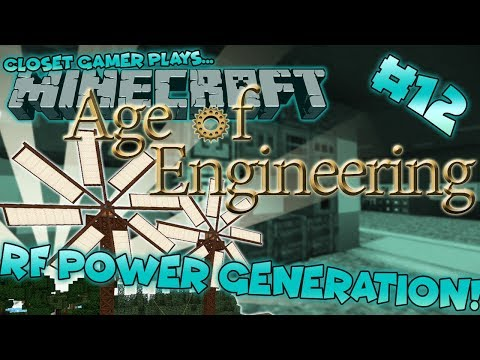 Age of Engineering #12 | RF Power Generation! | Closet Gamer