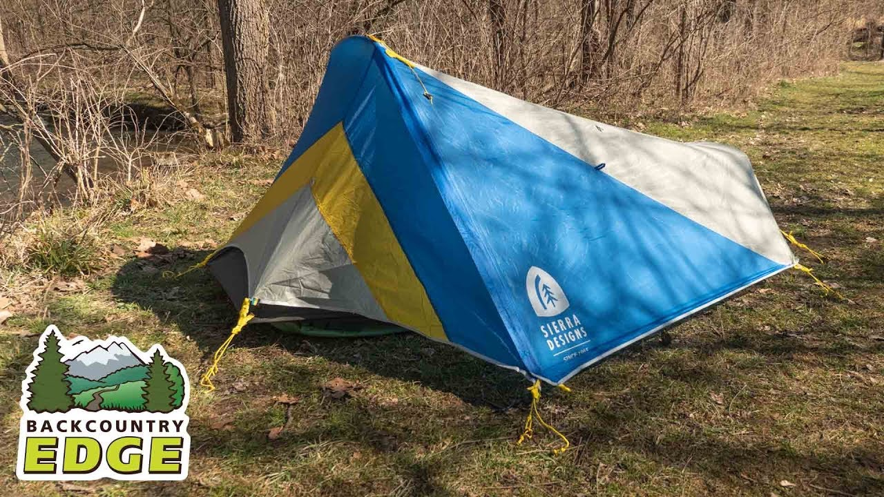 and Bikepacking Tent with Deployable Awning Style Vestibule Lightweight Backpacking Camping Sierra Designs High Side 1//2 Person Tent
